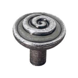 """Siro Designs Knob Old Silver - 1 1/8"""""""