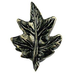 Sierra Lifestyles Maple Leaf Knob in Bronzed Black