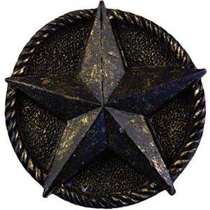 Sierra Lifestyles Star Knob in Bronzed Black