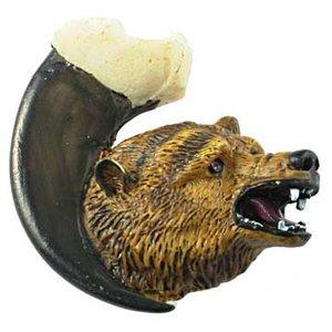 Sierra Lifestyles Grizzly Bear on Claw Knob Left
