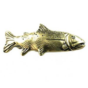 Sierra Lifestyles Trout Pull in Antique Brass