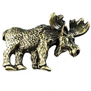 Sierra Lifestyles Moose Pull in Antique Brass