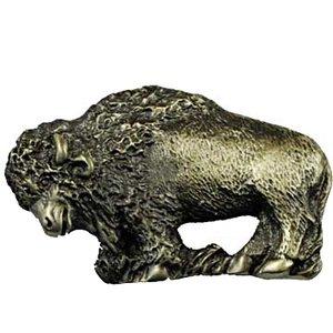 Sierra Lifestyles Buffalo Pull in Antique Brass