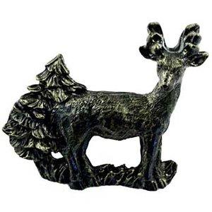 Sierra Lifestyles Standing Deer Pull in Bronzed Black