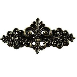 Sierra Lifestyles Fleur De Lis Pull in Bronzed Black
