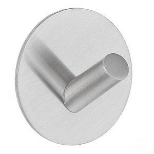 SMEDBO Self Adhesive Single Hook Design in Stainless Steel Brushed