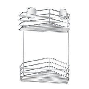 SMEDBO Beslagsboden Self Adhesive Double Corner Shower Basket