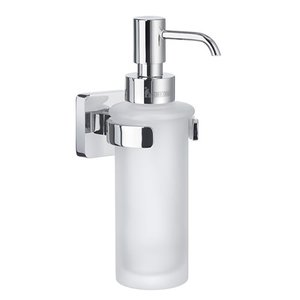 SMEDBO Ice Frosted Soap Dispenser in Polished Chrome