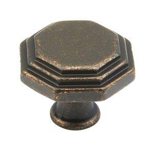 "Schaub and Company 1 3/16"" (30mm) Knob in Dark Bronze"