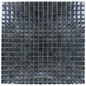 "Stellar Tile 5/8"" x 5/8"" Glass Mosaic Tile in Mirror"