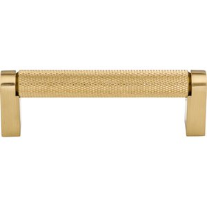"Top Knobs 3 3/4"" Centers Amwell Bar Pull in Honey Bronze"