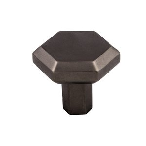 """Top Knobs 1 1/4"""" (32mm) Lydia Knob in Ash Gray"""