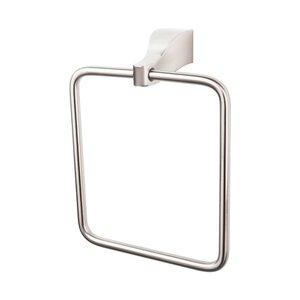 Top Knobs Towel Ring in Brushed Satin Nickel