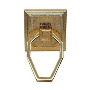 "Topex Cabinet Knobs Perla 1 1/4"" Center Pendant Pull in Gold"