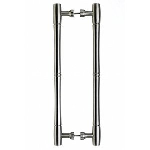 """Top Knobs Oversized 18"""" Centers Back to Back Door Pull in Brushed Satin Nickel 19 31/32"""" O/A"""