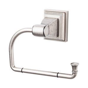 Top Knobs Single Arm Tissue Holder in Antique Pewter