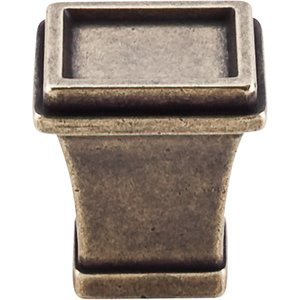 """Top Knobs Great Wall - 1"""" Tapered Knob in German Bronze"""