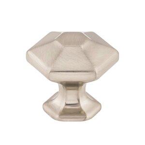 "Top Knobs 1 1/8"" Spectrum Knob in Brushed Satin Nickel"
