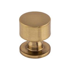 "Top Knobs 1 1/8"" Lily Knob in Honey Bronze"