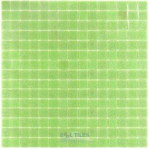 "Vicenza Mosaico Glass Tiles 3/4"" Glass Film-Faced Sheets in Aprilia"