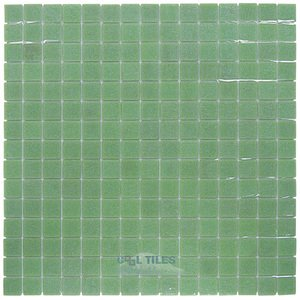 "Vicenza Mosaico Glass Tiles 3/4"" Glass Film-Faced Sheets in Avellino"