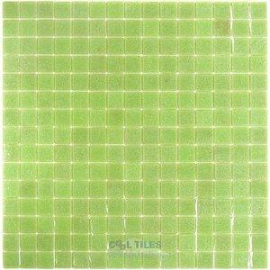 "Vicenza Mosaico Glass Tiles 3/4"" Glass Film-Faced Sheets in Dorgali"