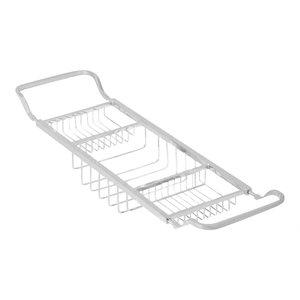 Valsan Contemporary Adjustable Bathtub Rack in Chrome