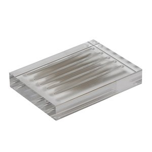 Valsan Soap Dish Holder in Acrylic