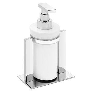 Valsan Ceramic Liquid Soap Dispenser in Chrome