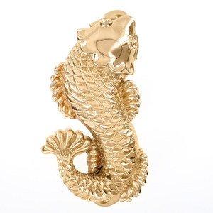 Vicenza Hardware Pollino Fish in Polished Gold