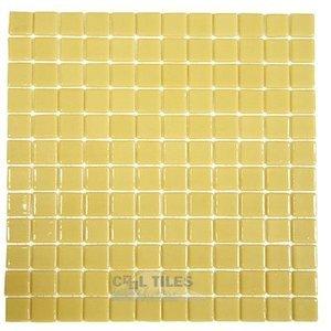 Vidrepur Recycled Glass Tile Mesh Backed Sheet in Beige