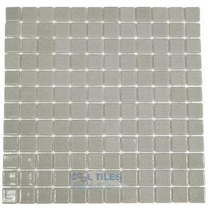 Vidrepur Recycled Glass Tile Mesh Backed Sheet in Grey