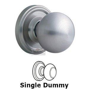 Weslock Door Hardware Barrington Single Dummy Door Knob in Satin Chrome
