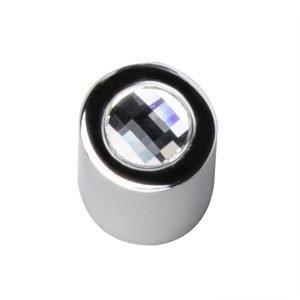 "Zen Designs 5/8"" Round Small Knob in Chrome"