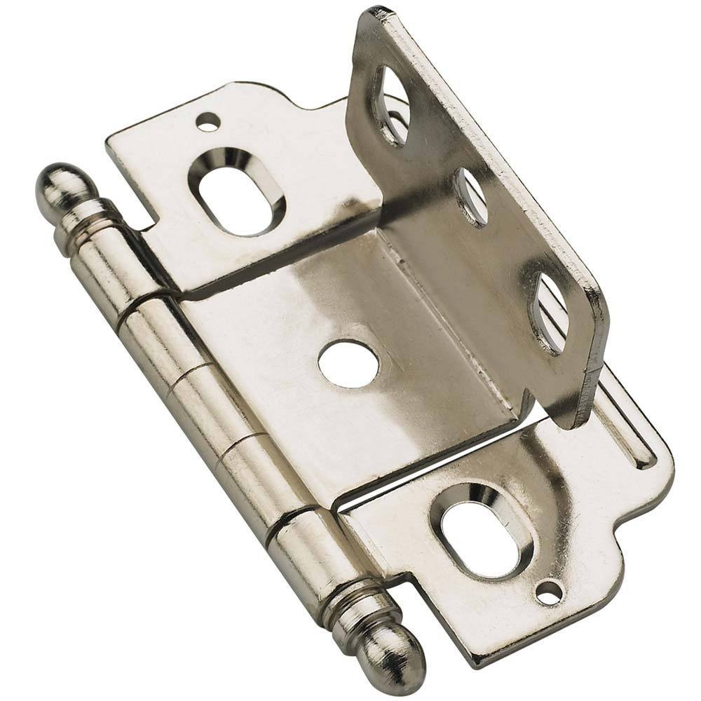 Amerock   Full Inset Cabinet Hinges   Full Inset, Partial Wrap, 3/4