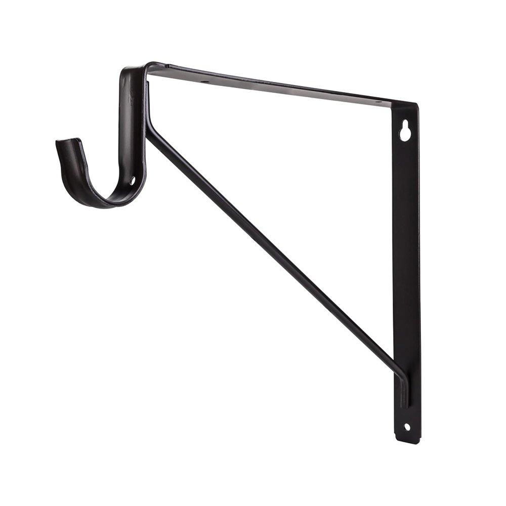 Hardware Resources - Closet Hardware - Shelf & Rod Support Bracket for 1516 Series Closet Rods in Dark Bronze