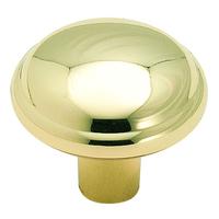 "Amerock - Clearance - Bright Brass Knob 1 1/8"""
