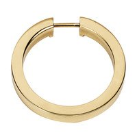 "Alno Inc. Creations - Convertibles Ring Pulls - 2 1/2"" Round Ring in Polished Brass"