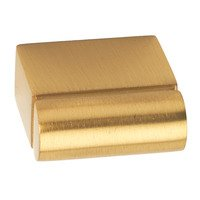 "Alno Inc. Creations - Vogue - 1"" Long Knob in Satin Brass"