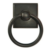 "Alno Inc. Creations - Eclectic - 1 3/4"" Ring Pull in Venetian Bronze"
