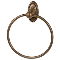 "Alno Inc. Creations - Classic Traditional - 7"" Towel Ring in Antique English Matte"