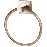 "Alno Inc. Creations - Contemporary II - 6"" Towel Ring in Satin Nickel"