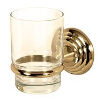 Alno Inc. Creations - Embassy - Tumbler Holder with Tumbler in Polished Brass