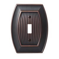 Amerock - Allison - Single Toggle Wallplate in Oil Rubbed Bronze