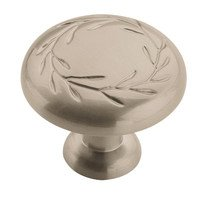 "Amerock - Nature's Splendor - 1 1/4"" Knob in Satin Nickel"