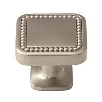 "Amerock - Carolyne - 1 1/4"" Knob in Satin Nickel"