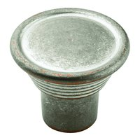 Amerock - Vasari - Weathered Nickel W/ Copper Knob 1 3/16""