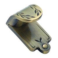 """Amerock - Nature's Splendor - Elegant Brass Finger Pull 1 7/8"""" X 1 1/16"""""""