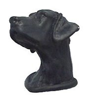 Anne at Home - Cats & Dogs - Labrador Knob in Pewter Matte