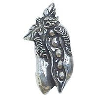 Anne at Home - Fruit and Vegetable - Baby Peas Knob in Pewter Matte